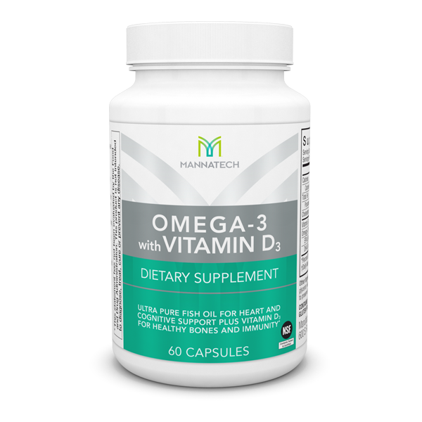 Omega 3 with vitamine D Mannatech