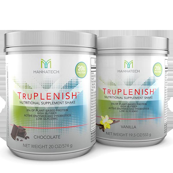 TruPlenish shake - Mannatech - Glyconutritionshop.com