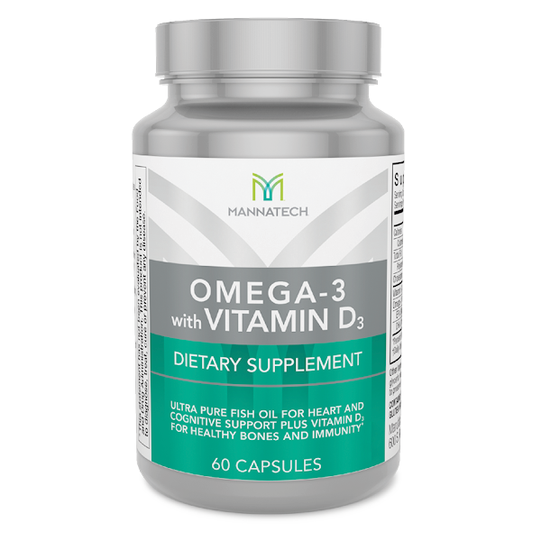 Omega3 vitamin D3 Mannatech